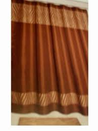 Zebra Valance Curtains Brown Zebra Shower Curtain Foter