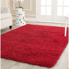Safavieh Kids Rugs by Safavieh California Shag Red 8 Ft X 10 Ft Area Rug Sg151 4040 8