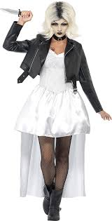 of chucky costume smiffys women s white of chucky costume us