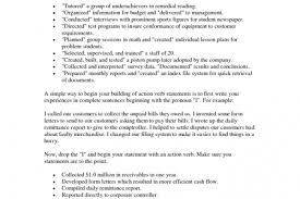Good Action Verbs For Resumes All Resumes Good Verbs For Resume Free Resume Cover And Resume