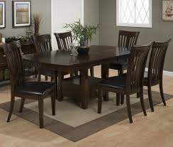jofran 836 78 7 piece extension leaf dining room set w shaped