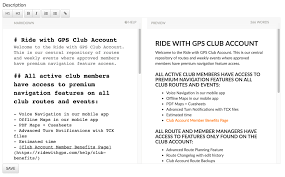 part 1 club account setup ride with gps help