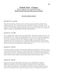 sle biography template for students charming resume personal bio exles contemporary entry level