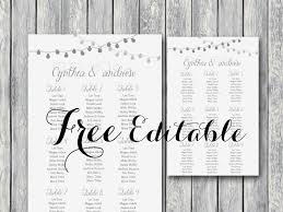 Free Wedding Seating Chart Template Excel Seating Chart Templates Wedding Seating Chart Template Seating