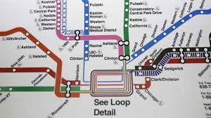 Ups Transit Map Chicago Map Maps Chicago United States Of America