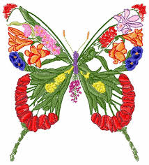 floral butterfly embroidery designs machine embroidery designs at