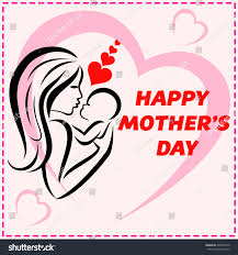 happy mothers day card design vector stock vector 409075972