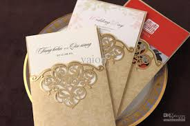 cheap gold floral wedding invitations elite wedding looks