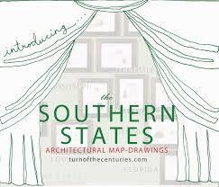 Map States Usa by Turn Of The Centuries The Southern States Usa Map Drawings