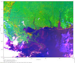 New Orleans Katrina Flood Map by Hurricane Katrina