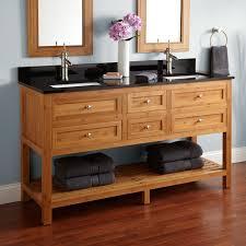 Bamboo Vanity Bathroom Bamboo Bathroom Vanity Double Sink Best Bathroom Decoration