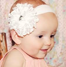 baby girl headbands and bows buy white lace flower baby girl headband online at beautiful
