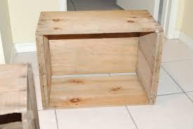 diy splendid living apple crate bookshelves