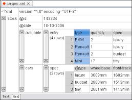 matrix layout xml view xmlgrideditor gif