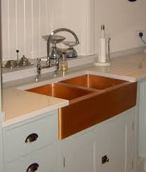hammered copper kitchen sink alluring copper kitchen sinks home