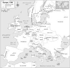 Map Of Europe Black And White by Maps Of Europe 1453 To 1795