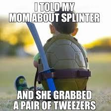 Tmnt Meme - tmnt kid problems meme guy