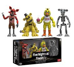 five nights at freddy s halloween costume party city amazon com funko five nights at freddy u0027s 4 figure pack 1 set 2