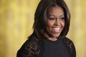 ms obamas hair new cut michelle obama s hair steals the spotlight on tv s jeopardy msnbc
