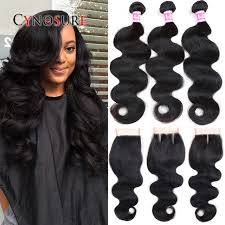 ali express hair weave grade 7a brazilian virgin hair with closure cheap brazilian human