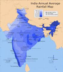 World Map Of India by File India Annual Rainfall Map En Svg Wikimedia Commons