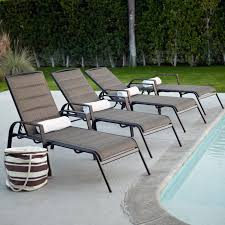 Chaise Lounge Outdoor Coral Coast Del Rey Padded Sling Chaise Lounges Set Of 2 Hayneedle