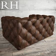Leather Chair by Soho Tufted Leather Chair 3d Model Cgtrader
