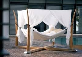 opulent outdoor bed canopy daybed with chaise lounges chicago