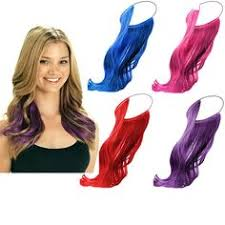 headband hair extensions colorful candy 12colors clip in hair extensions 1weft 5pcs