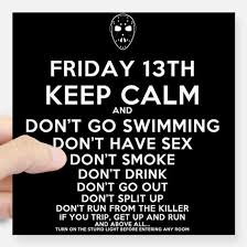 friday the 13th gifts for friday the 13th unique friday the 13th