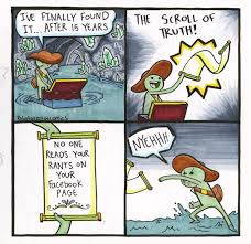 Comic Meme - the scroll of truth know your meme