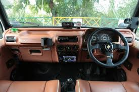 Car Modifications Interior Azad 4x4 Launches Fiber Hardtop Solution For Mahindra Thar