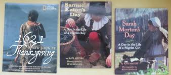 free 3 thanksgiving books samuel eatons mortons day 1621
