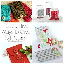 make a gift card 12 creative ways to give gift cards after laundry