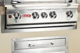 Built In Gas Grills Bull Bbq Stainless Steel Grill Finishing Frame