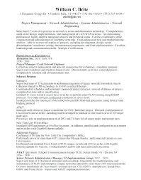 network engineer resume resume network engineer