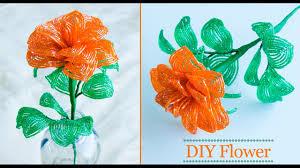 how to make rose flower flower making for home decor diy youtube how to make rose flower flower making for home decor diy