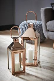 Lantern Table L Copper Lanterns Is Various Sizes Will Lift The Look Of Any Room