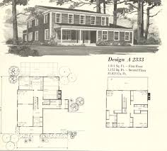 vintage house plans 1970s farmhouse variations part 2 antique 15