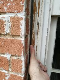 How To Hang A Picture On A Brick Wall How To Fill This Gap Between Window And Brick Wall Too Deep For