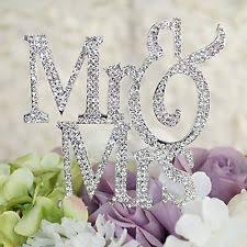rhinestone monogram wedding cake decorations ebay