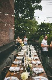 Backyard Wedding Setup Ideas The 25 Best Outdoor Dinner Parties Ideas On Pinterest Dinner