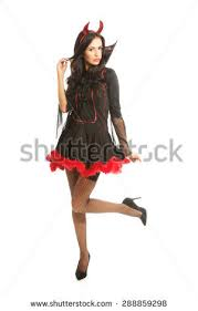 Halloween Costume Devil Woman Halloween Costume Stock Images Royalty Free Images U0026 Vectors