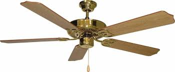 5 Light Ceiling Fan Minster Polished Brass Ceiling Fan V6152 2 Lighting Depot