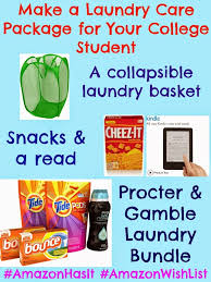 college student care package make a laundry care package for your college student using