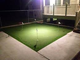 pictures of backyard putting greens u0026 synthetic turf northeast