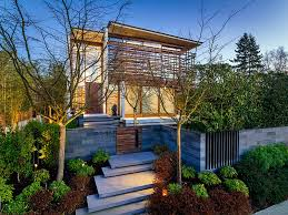 Home House Design Vancouver Flat Roof Modern Vancouver Houses