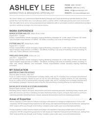 Best Resume Templates With Photo by Elegant Resume Template