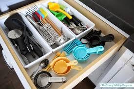 how to organize kitchen utensil drawer organized kitchen utensil drawer the side up
