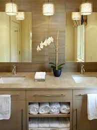 Houzz Modern Bathrooms Charming Houzz Bathroom Lighting Alluring Pendant Bathroom
